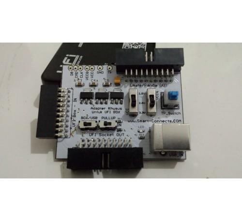 Jual Adapter Khusus UFI Box Direct ISP Emmc dan Converter ke Panda Emate Sysco Socket