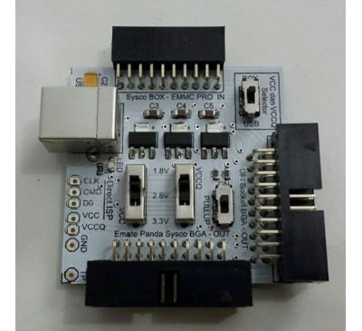 Jual Adapter Khusus SyscoBox Emmc Pro Box Anti Failed dengan tambahan VCC dan VCCQ melalui USB External