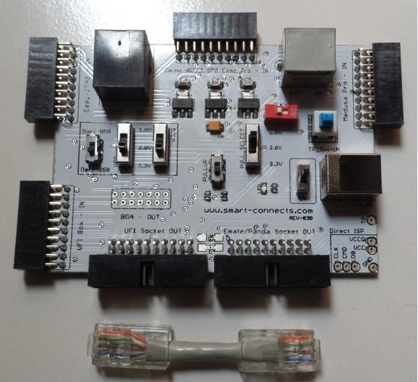 Jual Converter Socket BGA dan Adapter Direct ISP Emmc All in One