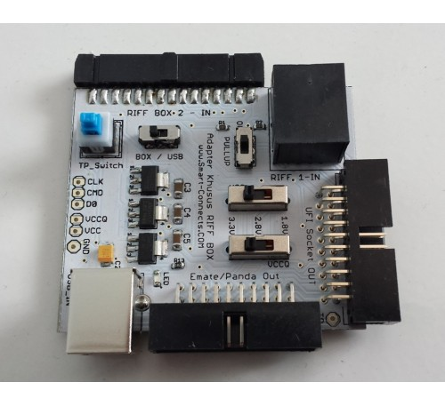 Jual Adapter Khusus RIFF Box dan RIFF 2 plus LDO Regulator Emate Panda UFI Sysco Socket dan ISP Out