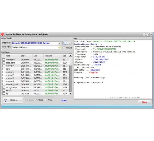 eMMC Tool Utilities by Saung Baca Tarik Kolot