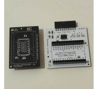 Jual Adapter Easy JTAG Plus Nand Kit with BGA Soldering LGA 52 60 TSOP 48